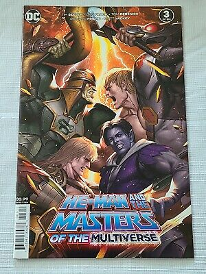 $3.99 • Buy He-Man And The Masters Of The Universe: MOTM #3, DC Comics, Lee Inhyuk Art