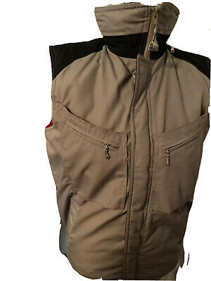 $19.99 • Buy Vintage PACIFIC TRAIL Mens Small VEST Flannel Lined Fishing Sportswear Hooded