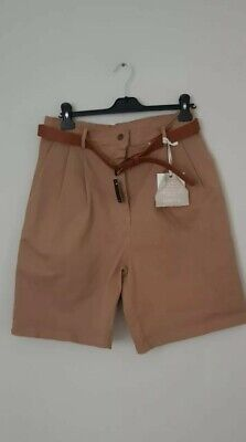£2.99 • Buy MIHO'S Made In Italy Ladies Safari Style Shorts 12 / 14 / M NEW