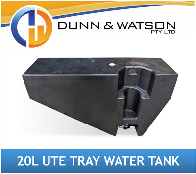 AU240 • Buy 20L Ute Tray Poly Water Tank (Vehicle, Wheel Arch, 4wd, 4x4, Toolbox, Trailer)