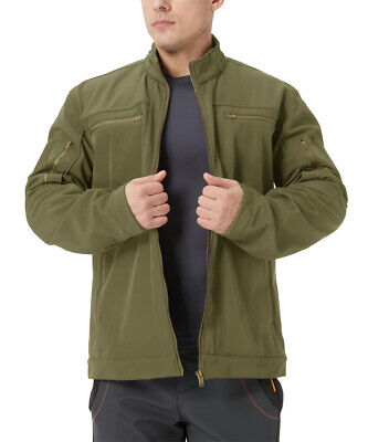$28.99 • Buy Soft Shell Fleece Military Army Jackets Men's Tactical Combat Coats Working Tops