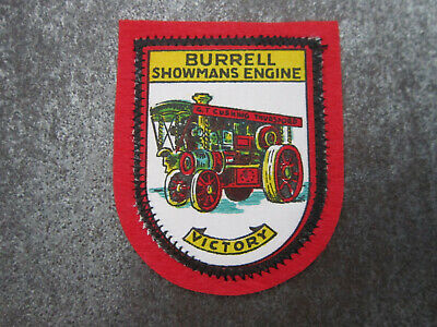 £3.99 • Buy Burrell Showmans Engine Victory Cloth Patch Badge (L10S)