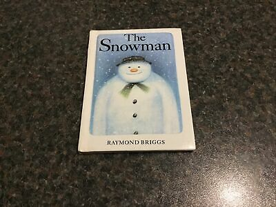 £2.50 • Buy Small Book - The Snowman By Raymond Briggs With Pictures For Young Children