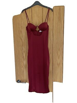 £20 • Buy Oh Polly Cut Out Dress Size 6