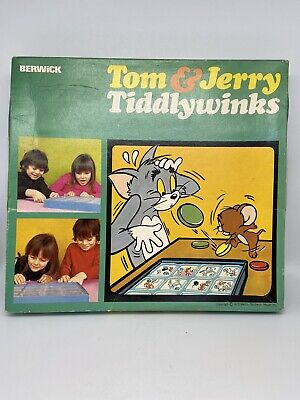£10 • Buy Vintage Tom And Jerry  - Tiddlywinks Game (Berwick 1972) 49 Years Old