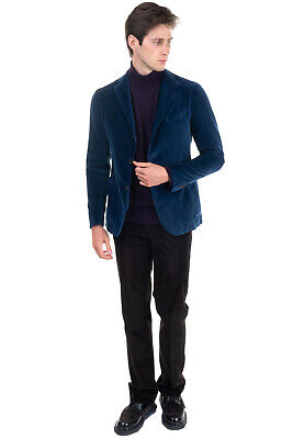 $41.67 • Buy TAGLIATORE Velour Blazer Jacket Size 46 S Unlined Single-Breasted Made In Italy