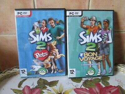 £5.99 • Buy The Sims 2: Bon Voyage - Expansion Pack. AND The Sims 2 Pets - Expansion Pack