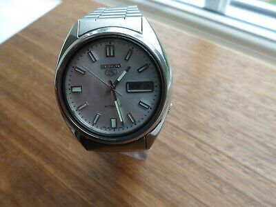 £35 • Buy SEIKO 5 AUTOMATIC WATCH 7009-970600.38mm CASE ,VERY GOOD CONDITION.