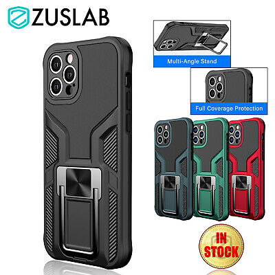 AU11.95 • Buy For IPhone 12 11 Pro Max XR XS X 7 8 Plus SE Case Shockproof Stand Holder Cover