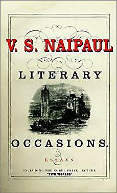 £4.08 • Buy Literary Occasions Hardcover V. S. Naipaul