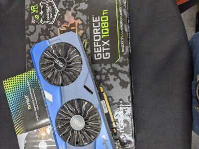 $ CDN1326.70 • Buy Verified To Work Geforce Gtx 1080Ti Palit Graphic Board Box With Accessories