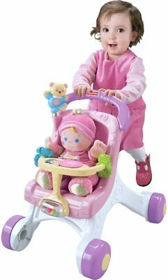 £52.90 • Buy  Fisher-Price Brilliant Basics Buggy Stroll Along Walker M9523 TO