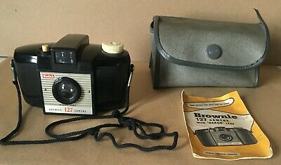 $ CDN13.95 • Buy Vintage Kodak Brownie 127 Camera With Case And Instructions