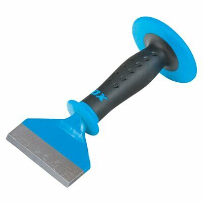 £16.95 • Buy OX P092304 Pro Brick Bolster With Hand Guard 4  X 8.1/2
