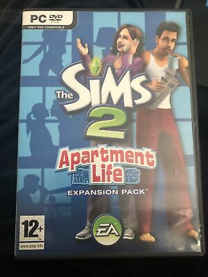 £16.99 • Buy The Sims 2 Apartment Life Expansion Pack (PC Game ) With Manual