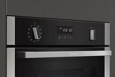 £625 • Buy Neff B2ACH7HH0B Pyrolytic Single Oven With Home Connect - Brand New SS/BL