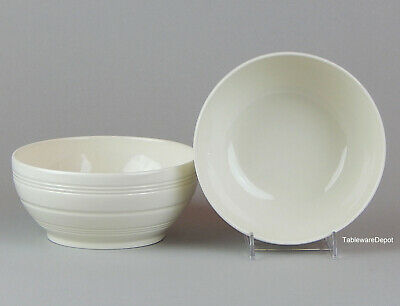 £35.61 • Buy Wedgwood JASPER CONRAN CASUAL CREAM Set Of 2 (6 1/8 ) Coupe Cereal Bowls SUPERB!