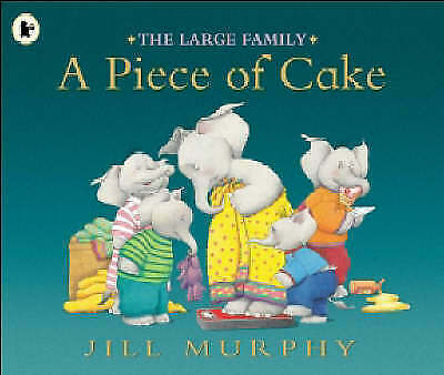 £4.49 • Buy The Large Family - A Piece Of Cake By Jill Murphy - New Book 📖
