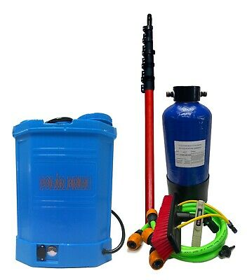 £320.98 • Buy Complete Water Fed Window Cleaning System - 16 L Backpack - Pure Water