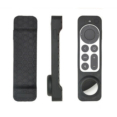 AU9.41 • Buy For Apple AirTag Apple TV Remote Control Tracker Silicone Protective Cover