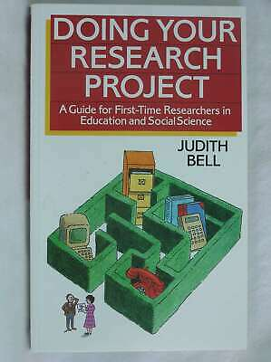 £5.29 • Buy Doing Your Research Project: A Guide For First-time Researchers In Education And
