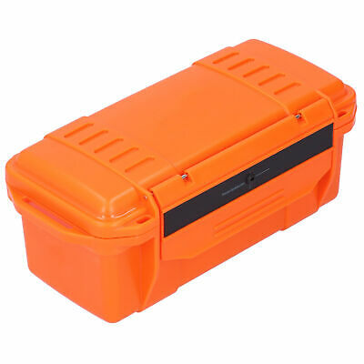 £13.01 • Buy Tool Storage Case ABS Reinforced Hard Plastic Tool Box For Fishing For Camping