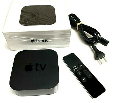 AU173.59 • Buy Apple TV 4K (5th Generation - 2017) 64 Gb W/ Box, Power Cable, & Remote WORKING