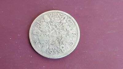 £2.55 • Buy King George V. 1933 .Silver Sixpence Coin