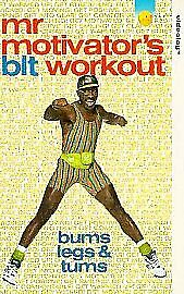 £4 • Buy Mr Motivator - Bums, Legs And Tums Workout (VHS, 1994). Like New.