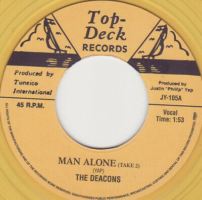 £24.95 • Buy NEW- The DEACONS- Man Alone / ROLAND ALPHONSO - A Shot In The Dark  JY-105