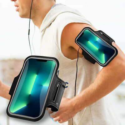 AU19.94 • Buy Sports Gym Running Armband For Apple IPhone 13 12 11 XS XR X 8 7 Plus Arm Band