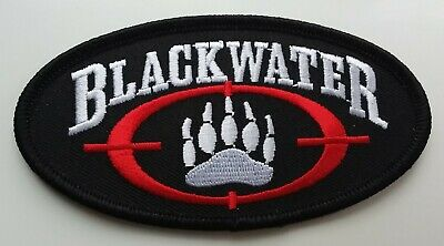 £2.99 • Buy BLACKWATER USA PATCH Embroidered Badge United States Private Security Law CIA