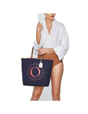 AU149 • Buy Oroton Signet Tote In Blue {Perfect Condition}