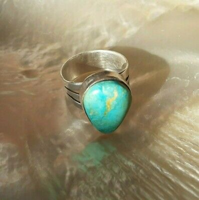 £40 • Buy Native American Turquoise And Silver Ring