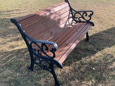 £150 • Buy Beautifully Restored Cast Iron Garden/Bench Seat/ Chair/ Wrought Iron