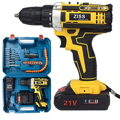 View Details 21V Electric Drill Cordless Electric Screwdriver Drill Set 30pcs With Battery US • 39.98$