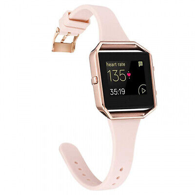 AU30.80 • Buy (Large, Pink Sand/Rose Gold) - Amcute Compatibe For Fits Fitbit Blaze Band