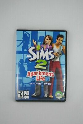 £14.49 • Buy The Sims 2 Apartment Life PC DVD-ROM Game 2008 Expansion Pack W/ Manual!!
