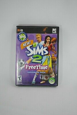 £14.52 • Buy The Sims 2 FreeTime PC CD-ROM Game 2008 Expansion Pack!!