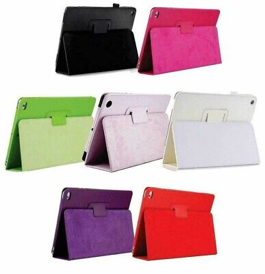 £4.99 • Buy Apple IPad Air, 9.7 2017 / 2018 Air 2 Leather Tablet Smart Stand Flip Cover Case