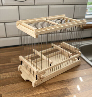 £30 • Buy Bird Cage Mule, Finch, Canary Present Wooden