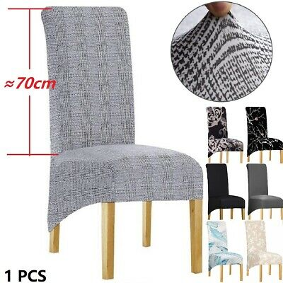 AU2.08 • Buy 1PCS Dining Chair Cover Removable Large Size Chair Slipcover XL Wedding Cover AU