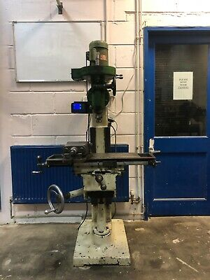 £1150 • Buy A Blank & Buxton Wells Index Vertical Milling Machine, 40 H Miller