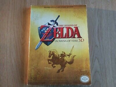 AU29.95 • Buy The Legend Of Zelda Ocarina Of Time 3d Prima Official Game Guide - With Poster