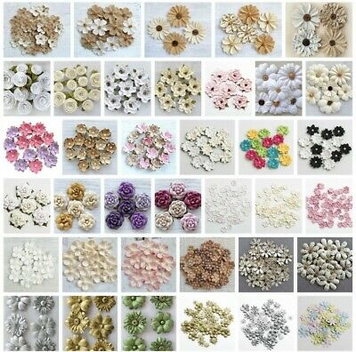 £3.25 • Buy Handcrafted Floral Decorations - Handmade Card Making Embellishment Crafts