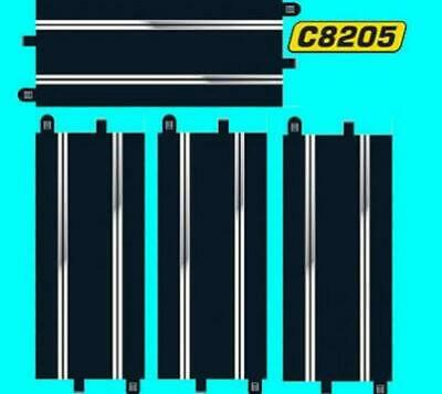 £11.99 • Buy 4x SCALEXTRIC C8205 SPORT TRACK STANDARD STRAIGHTS Equivalent To 8 C8207 Half