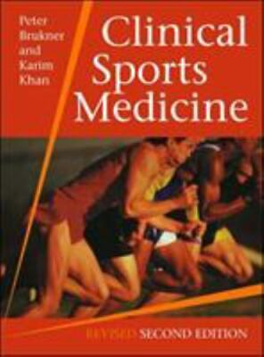 £35.62 • Buy Clinical Sports Medicine, Revised 2nd Edition By Peter Brukner , Hardcover