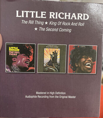 £9.99 • Buy Little Richard - The Rill Thing/King Of Rock And Roll/The Second Coming [CD]