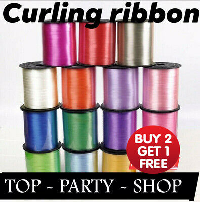£1.69 • Buy 50 M Curling String Colour Balloon Ribbon Balloons Weight Gift Decoration Fancy