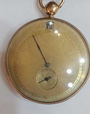£3826.53 • Buy Antique 18k Gold  Jumping Jump Hour Minute Repeater French Pocket Watch